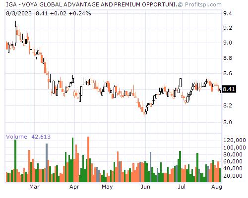 IGA - VOYA GLOBAL ADVANTAGE AND PREMIUM OPPORTUNITY FUND (NYSE)