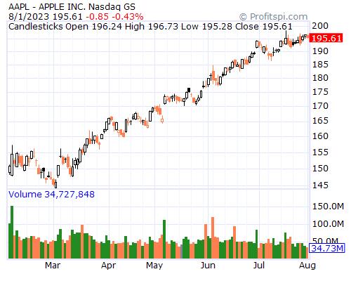 Historical Volatility Chart